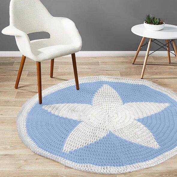 bhgshop diy crochet star rug kit